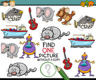 Educational task for kids Royalty Free Stock Photos