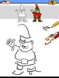 Educational task for preschoolers Stock Images