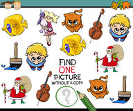Educational task for preschoolers Royalty Free Stock Images