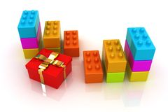 Educational toy and gift Royalty Free Stock Images