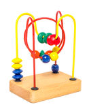 Educational Toy isolate on white Stock Images