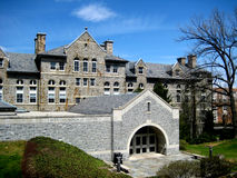 Educational University buiding. Picture of the educational and research building of the Lehigh University, PA Stock Images