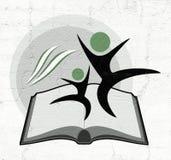 Educative book symbol. Design of educative book symbol vector illustration