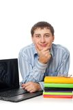 Educaton e concetto di affari Immagine Stock Libera da Diritti