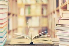Educator. Literature library book bookshelf librarian literacy Stock Photography