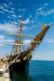Edukaci barquentine Włoska marynarka wojenna Obrazy Royalty Free