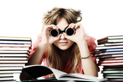 edukaci dziewczyna Fotografia Stock