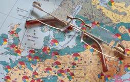 edukaci geografia Obrazy Stock