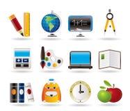 edukaci ikon szkoła Obraz Stock
