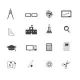 Edukaci ikona ilustracji