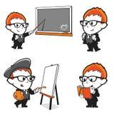 Edukacja Żartuje ilustrację Zdjęcia Royalty Free