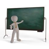 Edukacja deska Zdjęcie Royalty Free