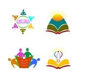 Edukacja emblemat Zdjęcie Stock