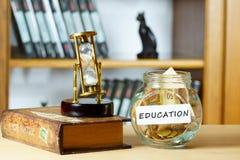 Edukacja fundusz Fotografia Royalty Free