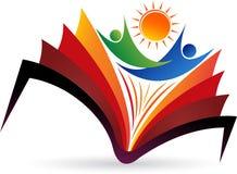 edukacja jaskrawy logo ilustracji