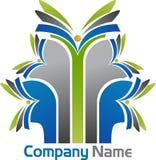 edukacja jaskrawy logo Zdjęcia Royalty Free