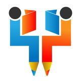 Edukacja logo Fotografia Stock