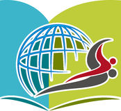 Edukacja logo Zdjęcie Royalty Free