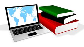 edukacja online royalty ilustracja