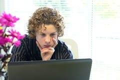 edukacja w sieci Zdjęcie Stock