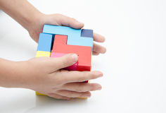 Edukacyjne zabawki dla mądrze dzieciaków Fotografia Royalty Free