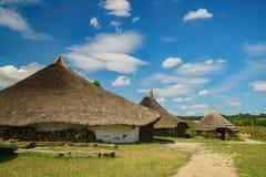 Edukacyjny Butser Antyczny gospodarstwo rolne zdjęcia royalty free