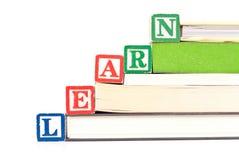 edukacyjny pojęcia czytanie Obraz Stock