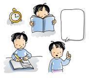 Eduque miúdos ilustração stock