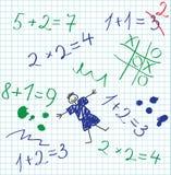 Eduque o caderno Imagem de Stock