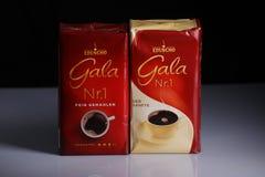 Eduscho Gala Nr 1, pak van koffie royalty-vrije stock foto