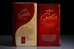 Eduscho Gala Nr 1, pak van koffie royalty-vrije stock afbeelding