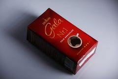 Eduscho Gala Nr 1, pak van koffie stock foto's