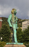 Edvard Grieg Statue Image stock