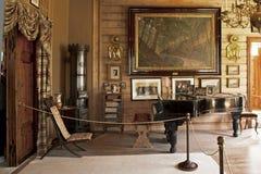 Edvard Griegs Troldhaugen-Haus in Bergen stockbilder