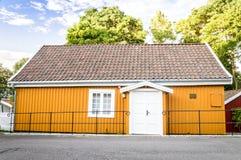 Edvard Munch& x27 σπίτι του s στοκ εικόνες