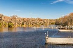 Edward Ball Wakulla Springs delstatspark, Florida Fotografering för Bildbyråer