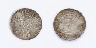 Edward The Confessor Rare Silver Coin Stock Image