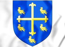 Edward het Confessor wapenschild vector illustratie