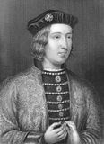 Edward IV. (1442-1483) on engraving from the 1800s Stock Photo
