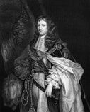Edward Montagu, 1st książe kanapka Obrazy Royalty Free