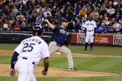Edward Mujica Padres Baseball Player Stock Images