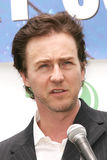 Edward Norton Stock Photo