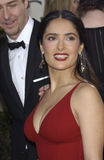 Edward Norton,Salma Hayek. SALMA HAYEK & EDWARD NORTON at the Golden Globe Awards at the Beverly Hills Hilton Hotel. 19JAN2003.   Paul Smith / Featureflash Stock Images