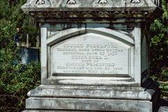 Edward Phdelford Cemetery Statuary Statue Bonaventure Cemetery Savannah Georgia imagen de archivo