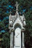Edward Phdelford Cemetery Statuary Statue Bonaventure Cemetery Savannah Georgia imágenes de archivo libres de regalías