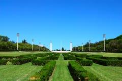 Edward VII Park, Lissabon, Portugal Stock Afbeeldingen