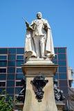 Edward VII staty, Birmingham Royaltyfri Bild