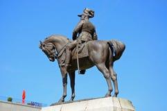Edward VII staty, Liverpool Arkivbild