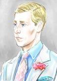 Edward VIII portrait Stock Photo