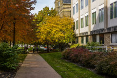 Edward W Morley chemii laboratorium Cleveland, Ohio - skrzynka westernu rezerwy uniwersytet - Fotografia Royalty Free